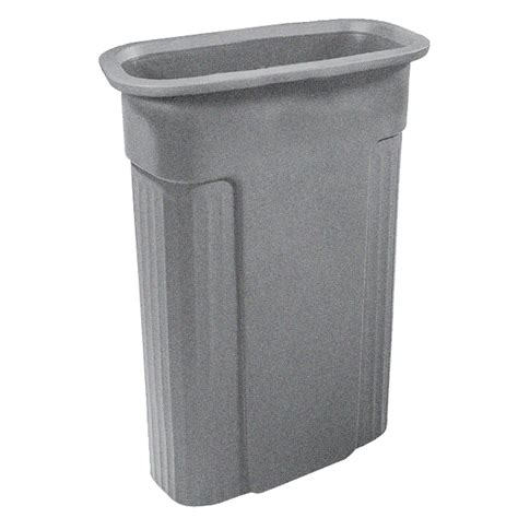 Patio Garbage Can by Shop Toter 23 Gallon Indoor Outdoor Garbage Can At Lowes