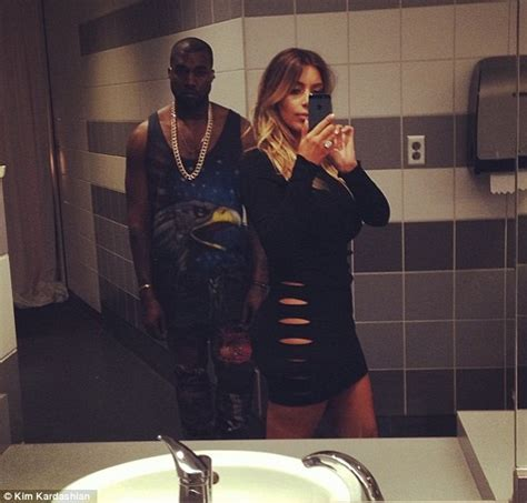 kim kardashian bathroom kim kardashian wears daring dress and poses in selfie with