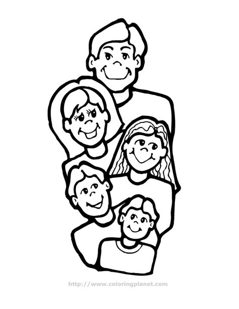 printable coloring pages about family coloring page of a family coloring home