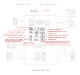electrical toyota tacoma 2007 fuse diagram motor vehicle maintenance repair stack exchange