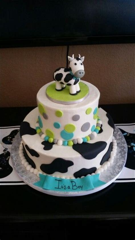 Cow Baby Shower by 1000 Ideas About Cow Cakes On Cow Birthday
