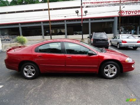 Interior Home Color Inferno Red Tinted Pearl 2004 Dodge Intrepid Sxt Exterior