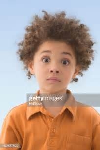 boys hairstyles mixed raced mixed race boy with shocked expression stock photo getty