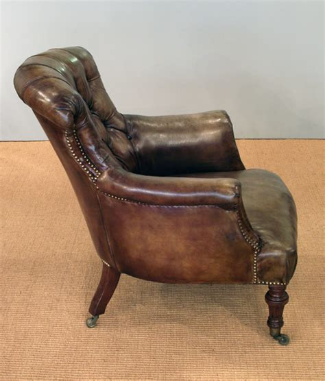 Vintage Leather Armchair Uk by Antique Leather Armchair Armchair