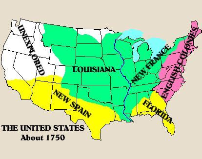 european claims in america map the world s catalog of ideas