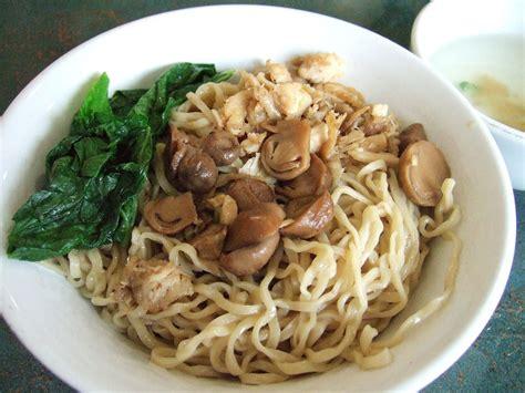 mie ayam jamur mushroom chicken noodle indonesian food mie ayam wikipedia