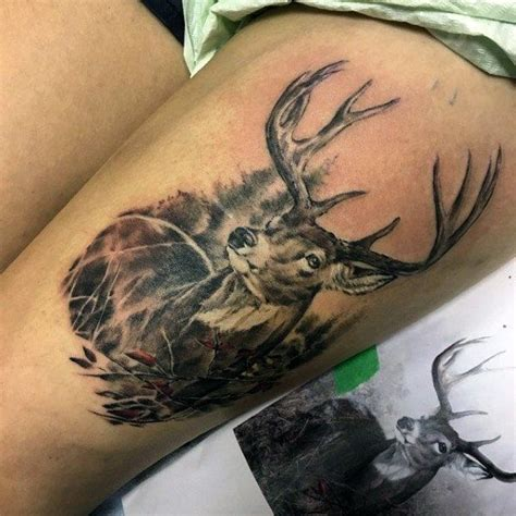 tattoo ideas for deer 581 best deer hunting tattoo ideas images on pinterest