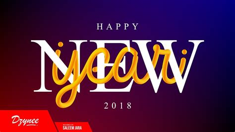 illustrator tutorial new years illustrator tutorials happy new year 2018 youtube
