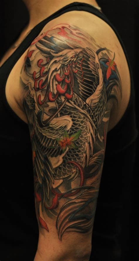 phoenix sleeve tattoo designs 30 unique designs collections