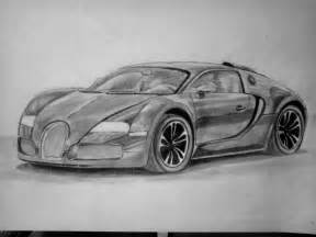 Drawing Bugatti Seleofficialart Black Bugatti Veyron Pencil Drawing