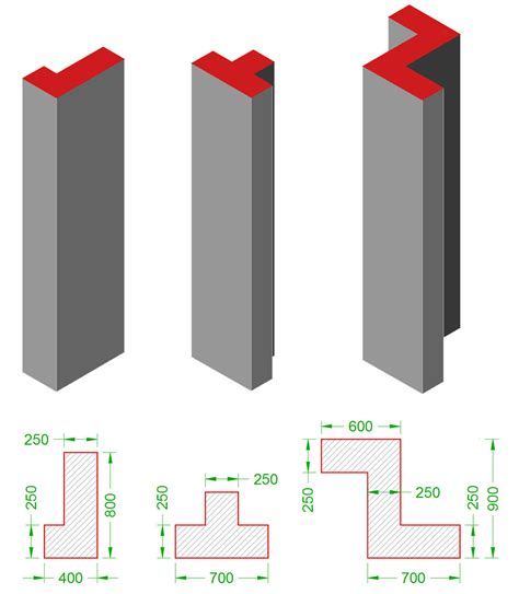 Column L by Structural Frame Elements Columns Www Buildinghow