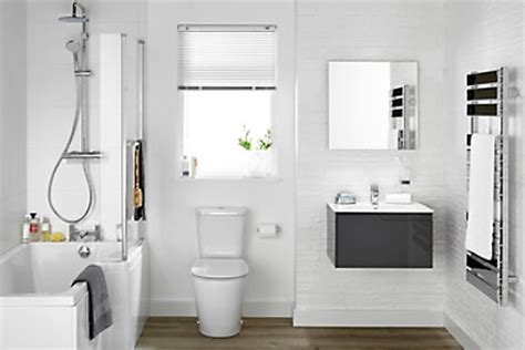 image of a bathroom bathroom suites complete bathroom suites diy at b q