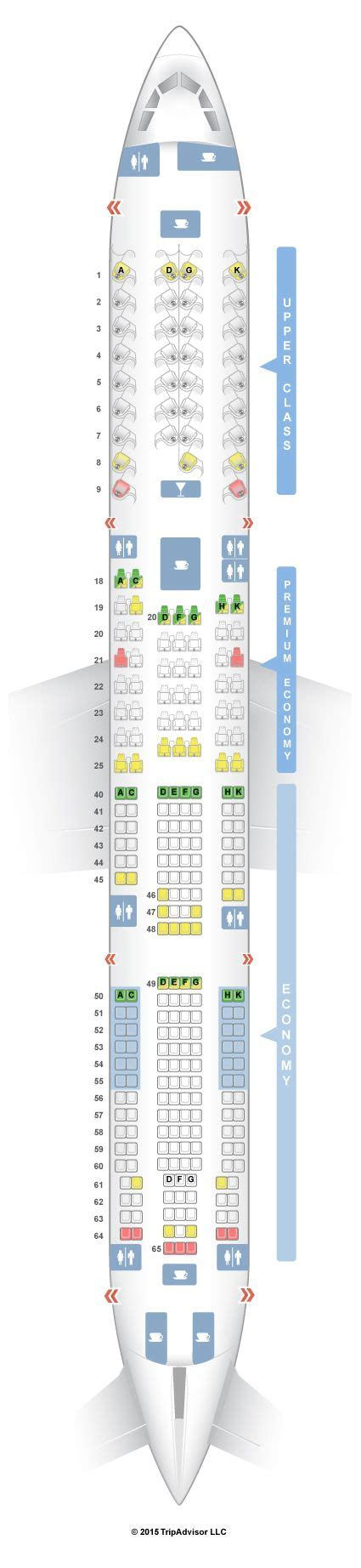 best seats on atlantic airbus a330 300 best 25 airbus a330 300 seating ideas on