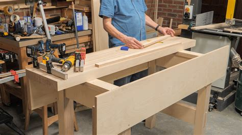plywood workbench episode woodworking masterclasses