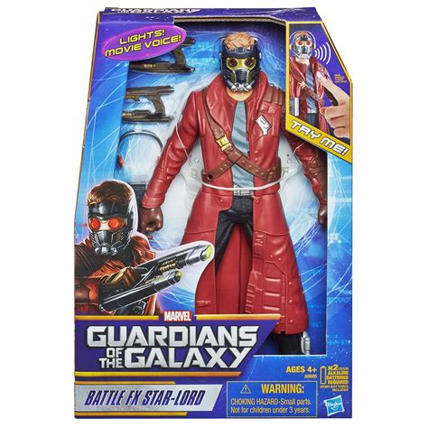 Original Hasbro Guardians Of Galaxy Vol 2 Lord Mix marvel guardians of the galaxy battle fx lord figure 12 quot toys