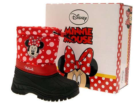 minnie mouse boots disney minnie mouse snow boots wellies