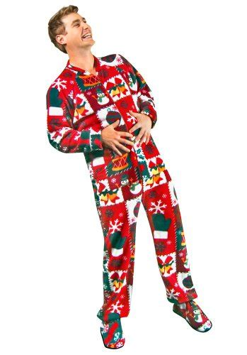 Footed Sleepers For Adults by Sweater Footed Pajamas For Adults Fleece