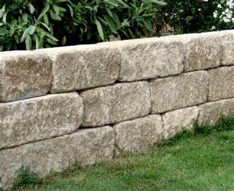 betonsteine mauer preis freiland