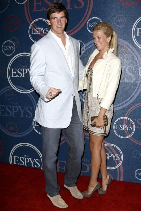 Eli Manning Sends Fiancee Abby Mcgrew Into Freezing Temps So He Wont Be Jinxed by Eli Manning S