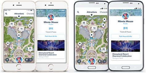 disneyland map app disneyland mobile app disneyland resort
