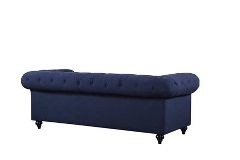 navy tufted sofa kristopher chesterfield contemporary navy velvet button