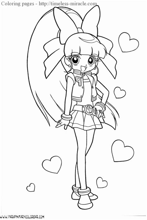 Ppgz Coloring Coloring Pages Powerpuff Z Coloring Pages Free