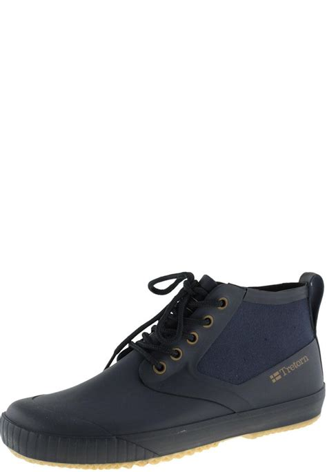new gunnar navy ankle rubber boots for by tretorn