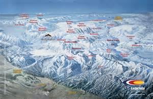 ski resorts near colorado springs map list of colorado ski resorts near springs