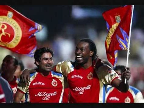 theme music bangalore royal challengers bangalore official theme song anthem