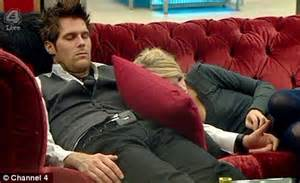 Big Sofa Bed Celebrity Big Brother Katia Cosies Up To Jonas Again In