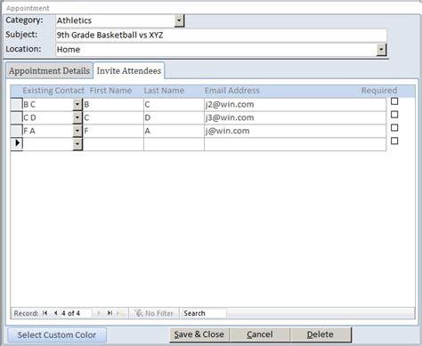 microsoft access calendar template microsoft access calendar template calendar template 2016