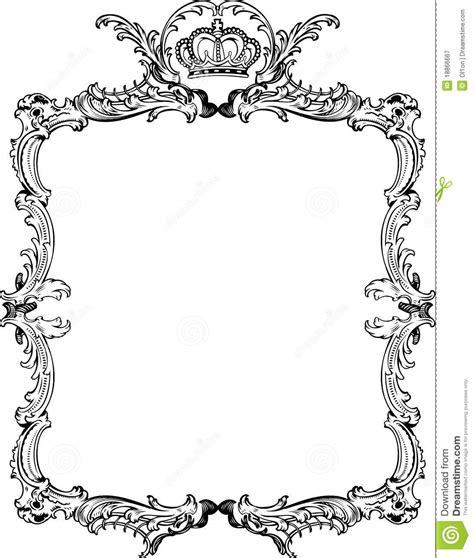 Bingkai Foto Frame Shabby decorative vintage ornate frame royalty free stock