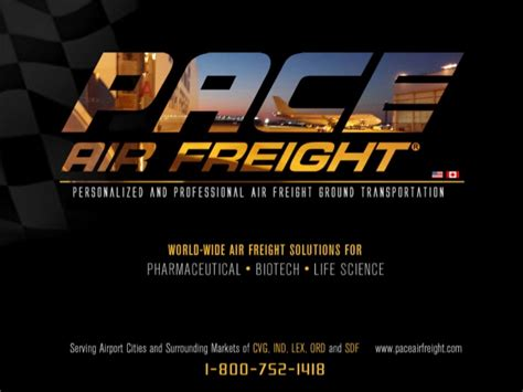 pace air freight secure air freight forwarding for the sensitive ma