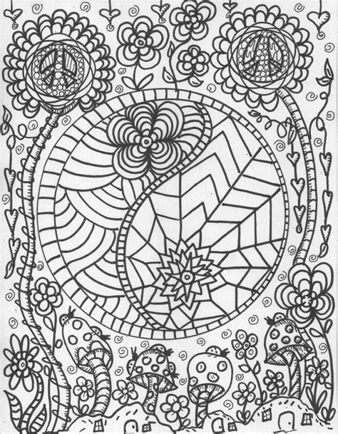 yin yang coloring book pages yin yang free coloring pages