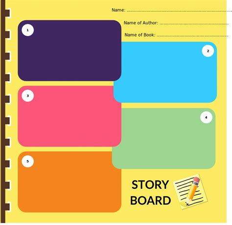 Design Storyboard Template by Storyboard Templates With Unique Designs For And