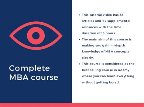 Mba Courses Discount by 90 Udemy Coupon Code