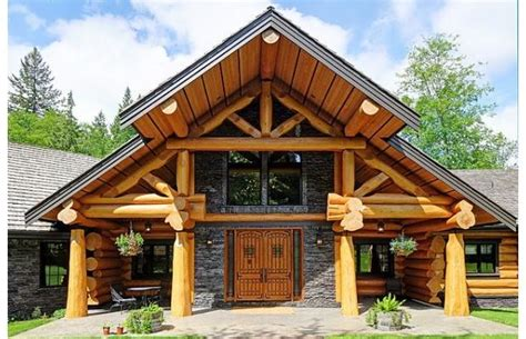 Photos Log Homes Loaded With Luxury
