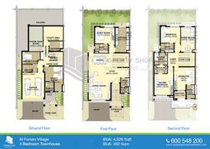 Split Floor Plans Floor Plans Of Al Forsan Village