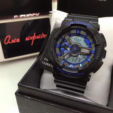 Sale Casio G Shock Blue Black g shock watches black and blue