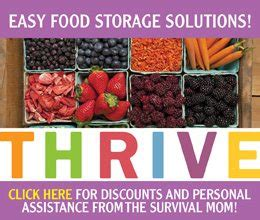 march madness thrive life sale     survival mom