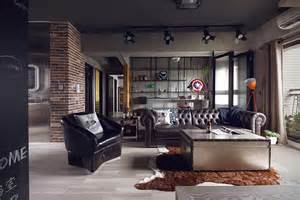 Bachelor Appartment by Marvel Themed Industrial Bachelor S Apartment In Taiwan