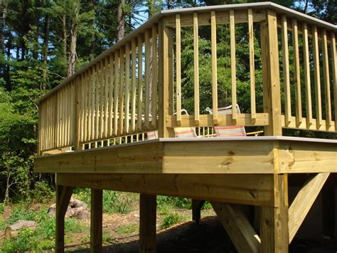Menards Kitchen Island how to how to build deck railing deck balusters porch