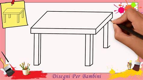 tavola per disegnare disegni di tavoli facili per bambini come disegnare un