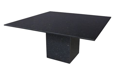 granite pedestal minimalist black granite pedestal dining table at