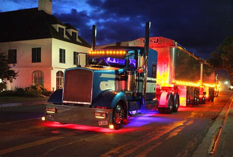 truck shows memorial truck returns to st ignace mich