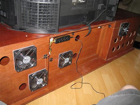home theater cabinet cooling add cooling fan to a v cabinet page 8 avs forum home