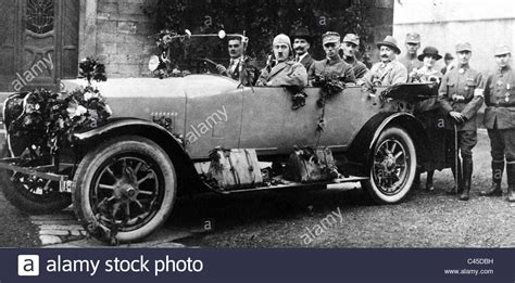 Hitler Auto by Hitler In The Car 1923 Stock Photo Royalty Free Image