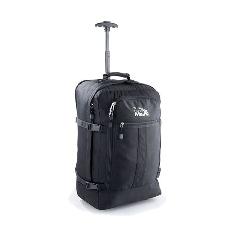 cabin max flight approved lightweight carry on trolley