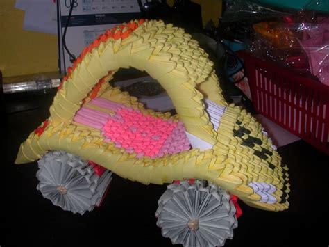 Car Origami 3d - origami car album thanam loganathan 3d origami