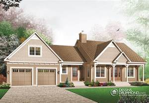 Ranch Style House Plans With Basements classique champ 234 tre w3220 maison laprise maisons
